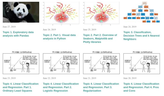Открытый курс OpenDataScience