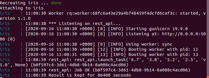 Тестирование контейнера Docker